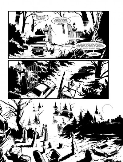 Page 4 apocalypse sur Carson City T.2 - le commencement de la fin