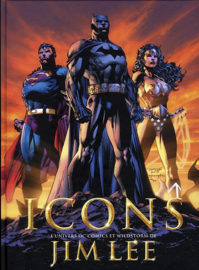 image de icons ; l'univers DC comics et wildstorm de Jim Lee