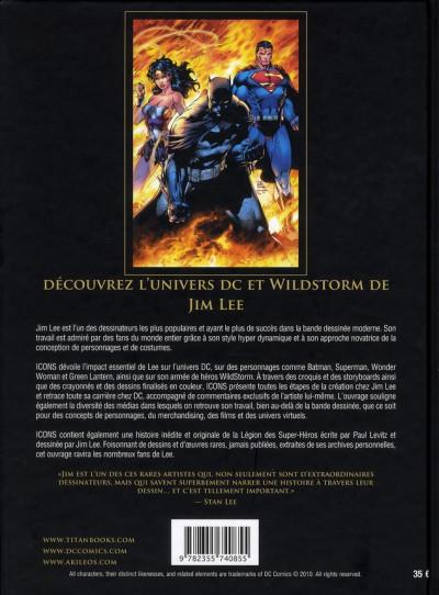 Dos icons ; l'univers DC comics et wildstorm de Jim Lee