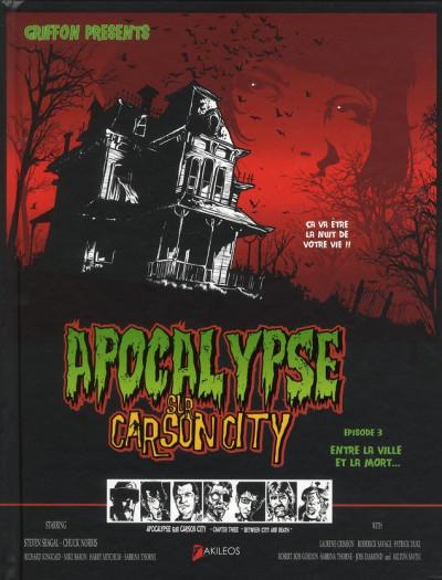 Couverture Apocalypse sur Carson City tome 3