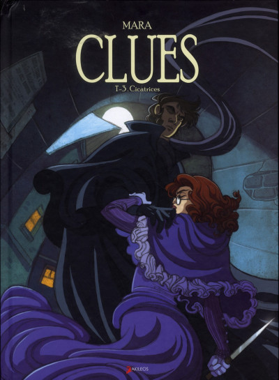Couverture clues tome 3 - cicatrices