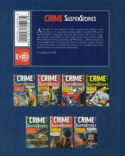 Dos crime suspenstories tome 1