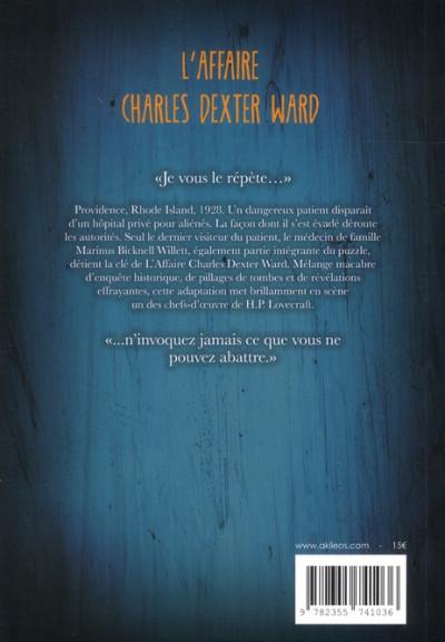 Dos l'affaire Charles Dexter Ward