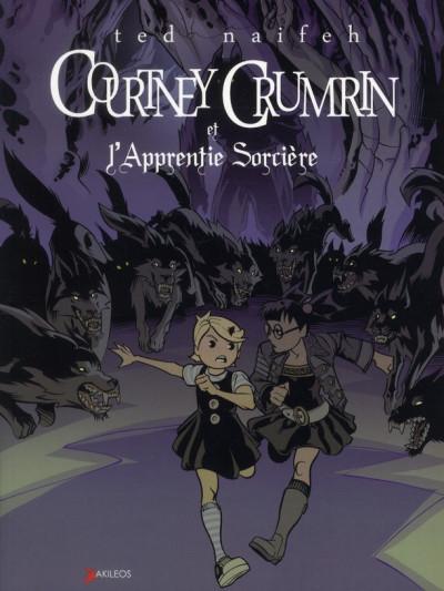 Couverture Courtney Crumrin tome 5 - l'apprentie sorcière