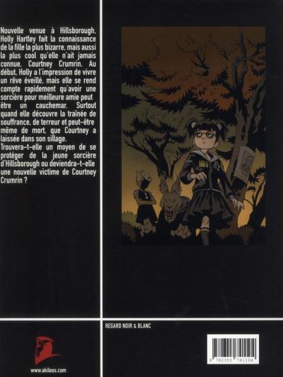 Dos Courtney Crumrin tome 5 - l'apprentie sorcière
