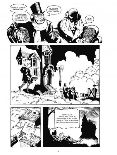 Page 1 Courtney Crumrin tome 5 - l'apprentie sorcière