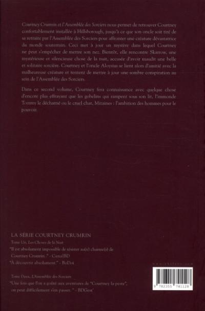 Dos Courtney Crumrin T.2 - l'assemblée des sorciers