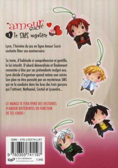 Dos amour sucré tome 1 - le s.m.s. mystère