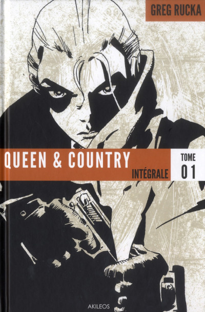 Couverture Queen & country - intégrale tome 1