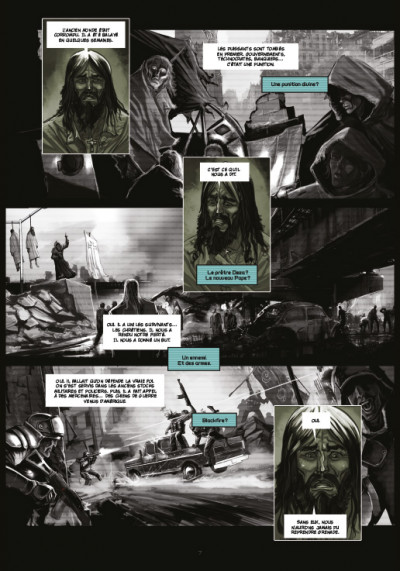 Page 1 chaos team - saison 1 tome 1