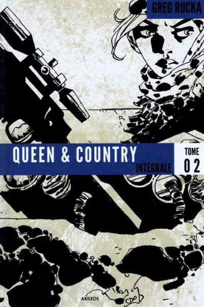 Couverture queen & country - intégrale tome 2