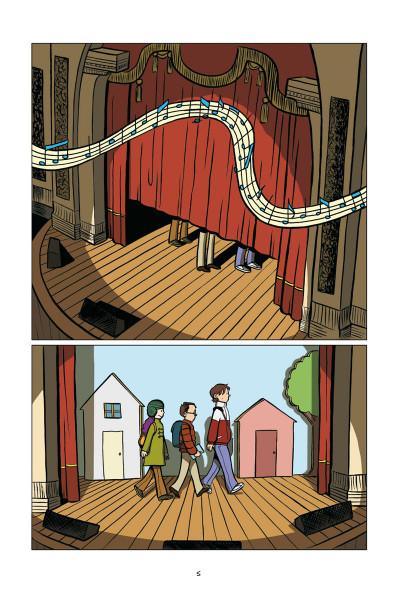 Page 3 en scène