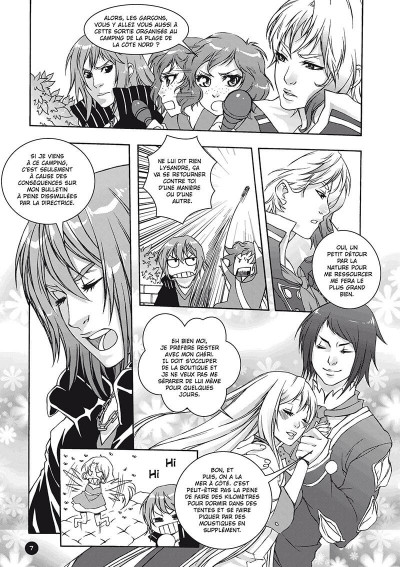 Page 8 Amour sucré tome 2 - speed camping