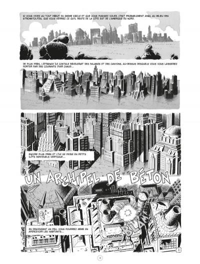Page 1 Les chroniques de l'ère xénozoïque - intégrale (noir et blanc)