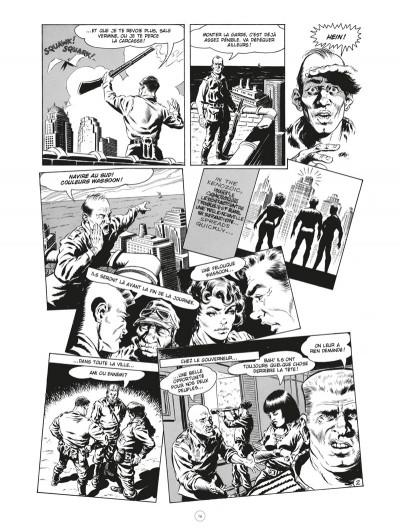Page 2 Les chroniques de l'ère xénozoïque - intégrale (noir et blanc)