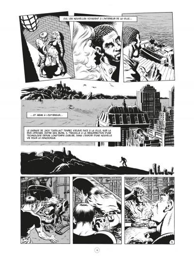 Page 4 Les chroniques de l'ère xénozoïque - intégrale (noir et blanc)