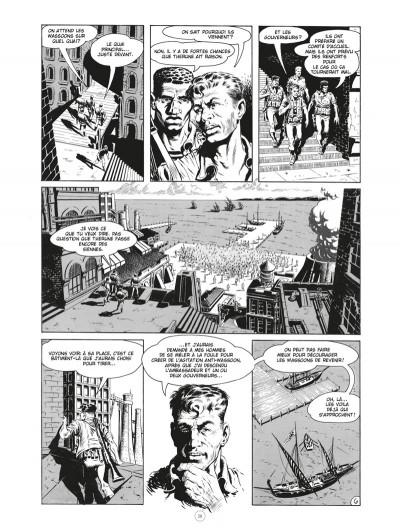 Page 6 Les chroniques de l'ère xénozoïque - intégrale (noir et blanc)