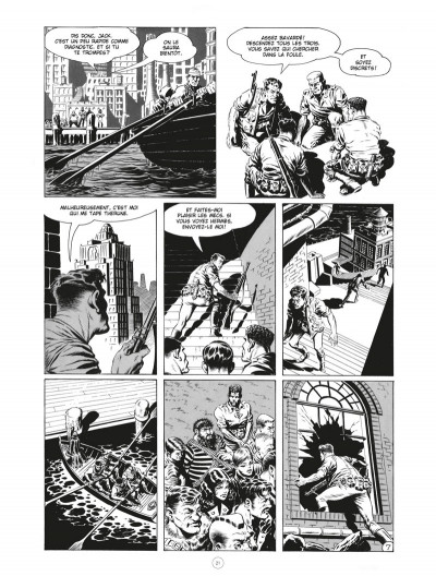 Page 7 Les chroniques de l'ère xénozoïque - intégrale (noir et blanc)