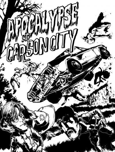 Page 2 apocalypse sur carson city tome 4 - halloween