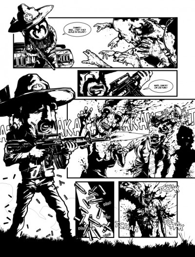 Page 8 apocalypse sur carson city tome 4 - halloween