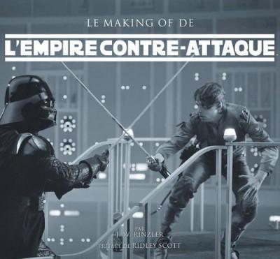image de le making of de l'Empire contre-attaque (Preface De Ridley Scott)