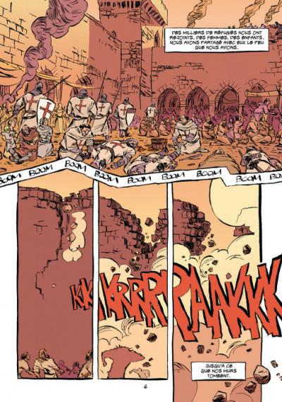 Page 4 templiers tome 1 - la chute