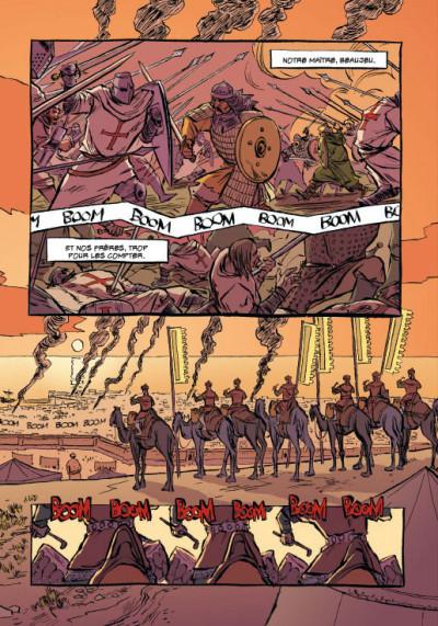 Page 6 templiers tome 1 - la chute