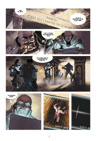 Page 3 Chaos Team  saison 2 tome 1