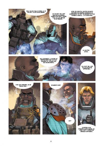 Page 4 Chaos Team  saison 2 tome 1