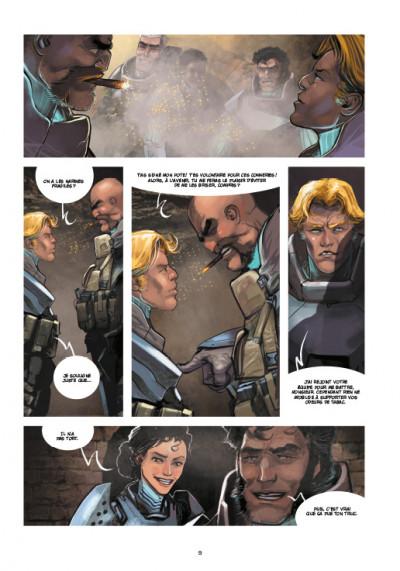 Page 5 Chaos Team  saison 2 tome 1