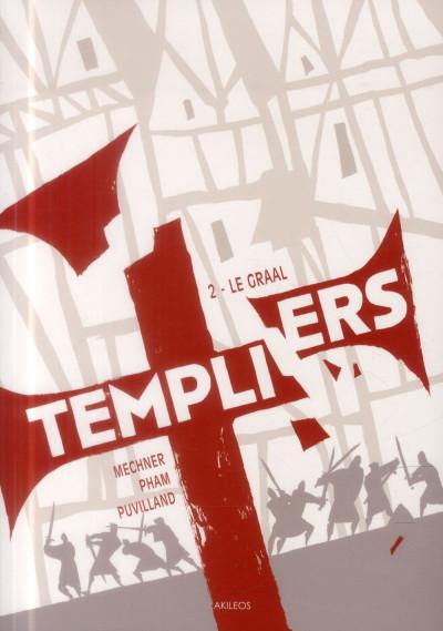 Couverture Templiers T.2 - le Graal