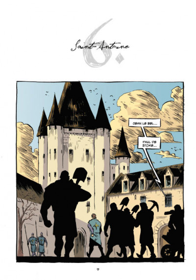 Page 1 Templiers T.2 - le Graal