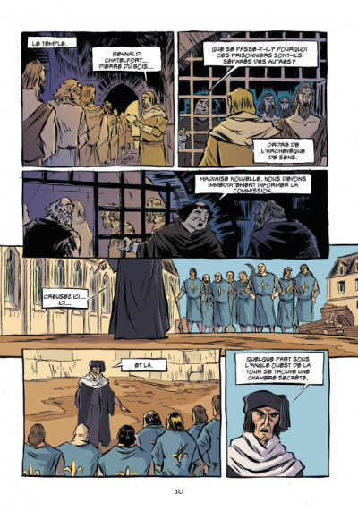 Page 2 Templiers T.2 - le Graal