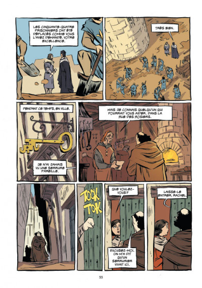 Page 3 Templiers T.2 - le Graal