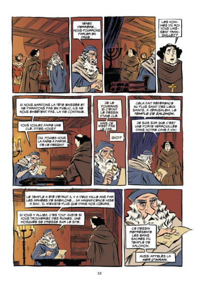 Page 4 Templiers T.2 - le Graal