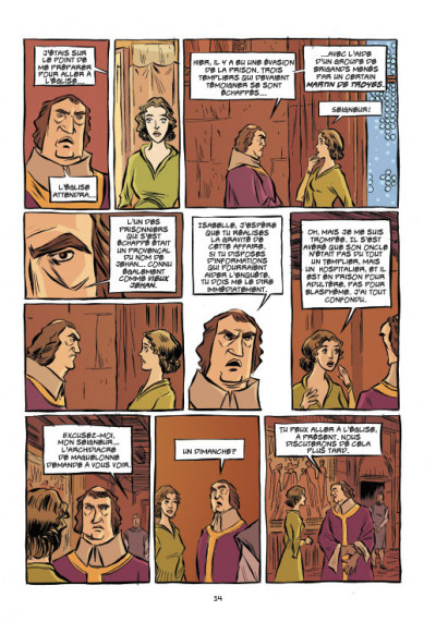 Page 6 Templiers T.2 - le Graal