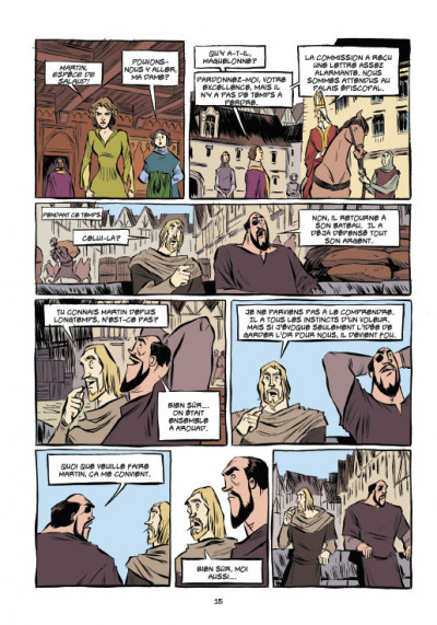 Page 7 Templiers T.2 - le Graal
