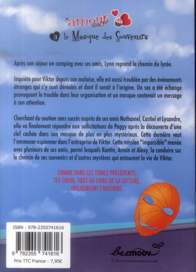 Dos l'amour sucré tome 3 - le masque des souvenirs