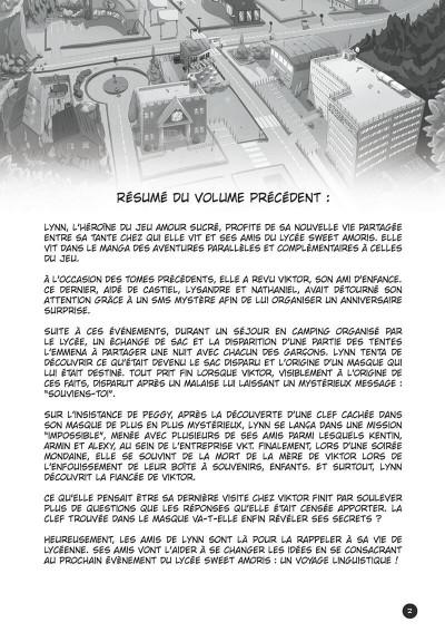 Page 3 amour sucré tome 4