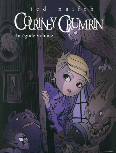 Couverture Courtney Crumrin - intégrale tome 1