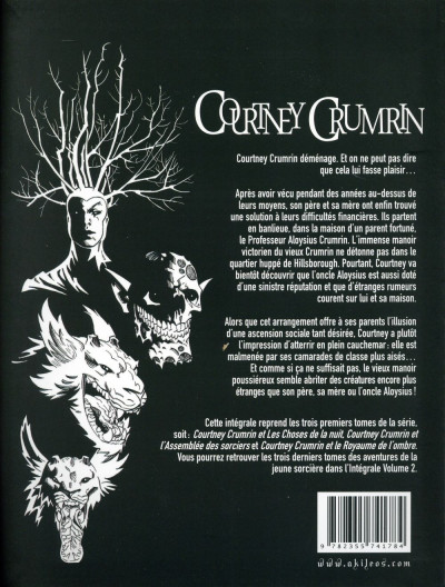 Dos Courtney Crumrin - intégrale tome 1