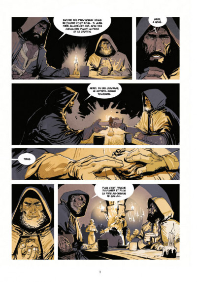 Page 3 Le roy des ribauds tome 1