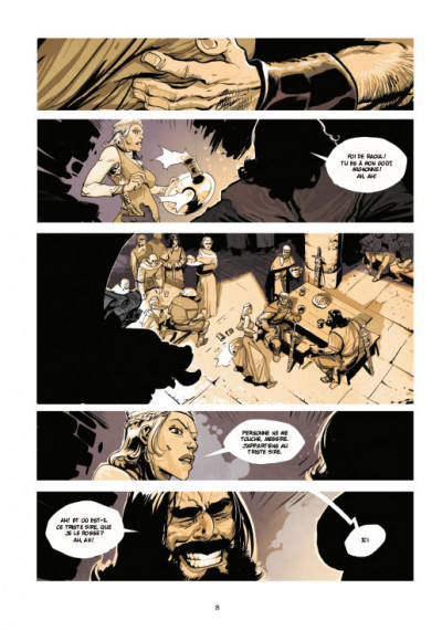 Page 4 Le roy des ribauds tome 1