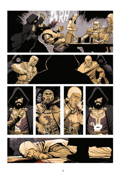 Page 5 Le roy des ribauds tome 1