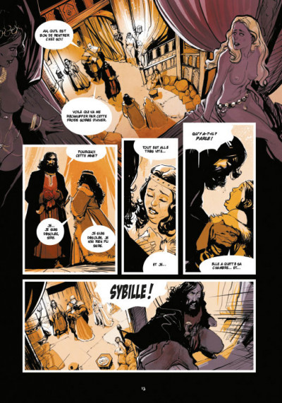 Page 9 Le roy des ribauds tome 1