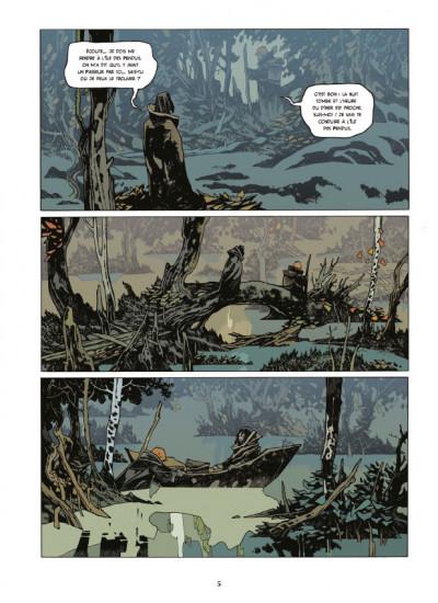 Page 3 La cité des chiens tome 1