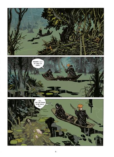 Page 4 La cité des chiens tome 1