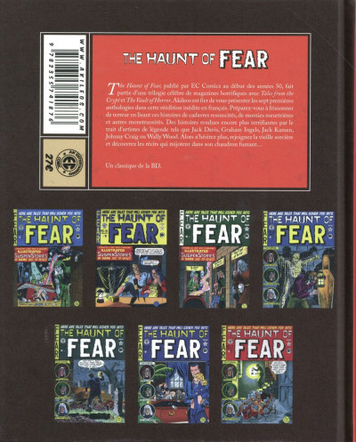 Dos The haunt of fear tome 1