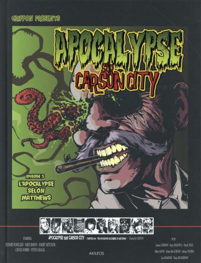 Couverture Apocalypse sur Carson City tome 5 - l'apocalypse selon Matthews