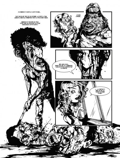 Page 9 Apocalypse sur Carson City tome 5 - l'apocalypse selon Matthews